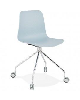 Chaise design RULLE BLUE 47x49x80 cm