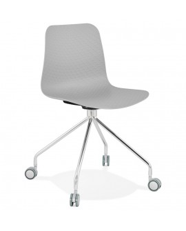 Chaise design RULLE GREY 47x49x80 cm