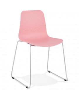 Chaise design BEE PINK 55x50x82,5 cm