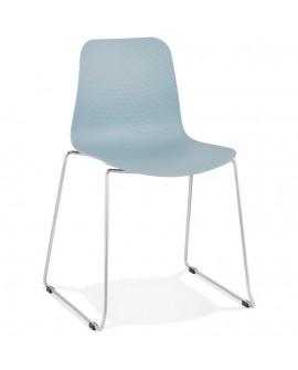Chaise design BEE BLUE 55x50x82,5 cm