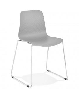 Chaise design BEE GREY 55x50x82,5 cm