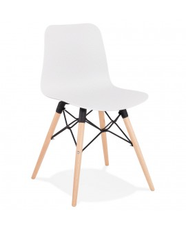 Chaise design GINTO WHITE 46x47x80 cm