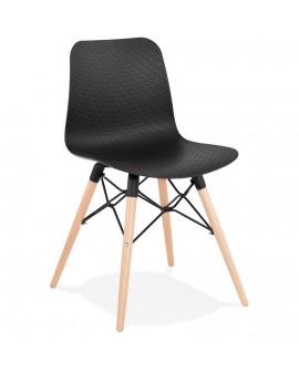 Chaise design GINTO BLACK 46x47x80 cm