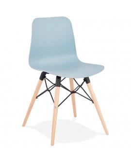 Chaise design GINTO BLUE 46x47x80 cm