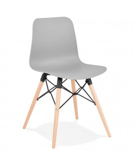 Chaise design GINTO GREY 46x47x80 cm