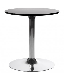 table basse design MARS BLACK 60x60x60 cm