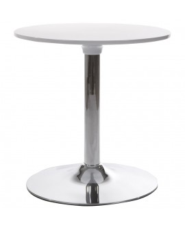 table basse design MARS WHITE 60x60x60 cm