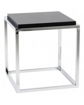 Table basse design KVADRA BLACK 42x42x44 cm
