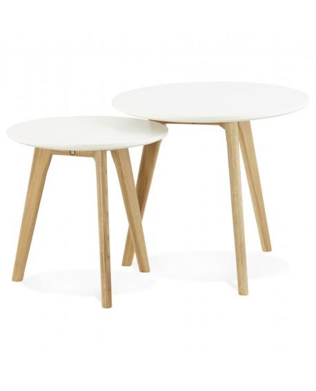 Table Basse Design Espino White Xx Cm Design D Un Jour
