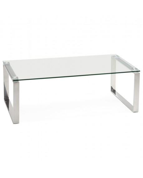 Table basse design MINNESOTA CLEAR 60x110x38 cm