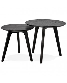 Table basse design ESPINO BLACK 50x50x45 cm
