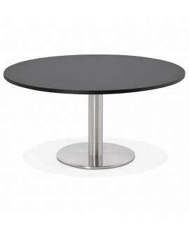 Table basse design MARCO BLACK 90x90x45 cm