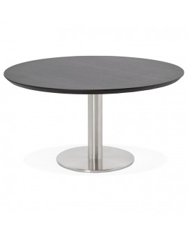 Table basse design STUD BLACK 90x90x45 cm