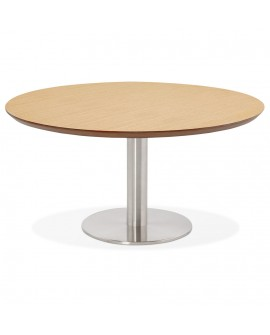 Table basse design STUD NATURAL 90x90x45 cm