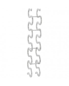 Accessoire déco design SNAKE ALU 14x23x96 cm