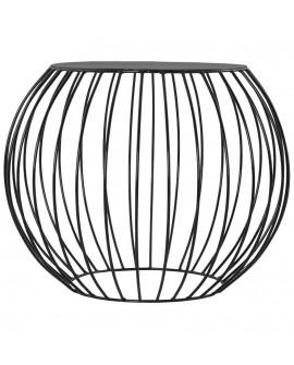 Table basse CIRCUS BLACK 60x60x47 cm