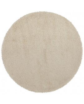 Tapis design COZY RONDO CREAM 160x160x3 cm