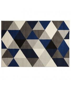 Tapis design MUOTO BLUE 160x230x1 cm