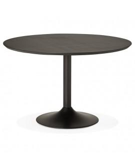 Table à diner design PATON 120 BLACK 120x120x77,5 cm