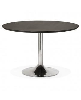 Table à diner design BLETA 120 BLACK 120x120x77,5 cm
