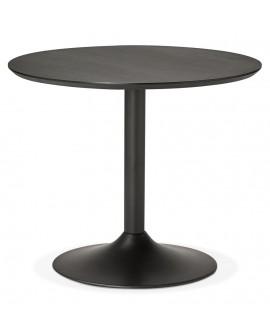 Table à diner design PATON 90 BLACK 90x90x75 cm
