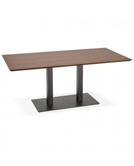 Table à diner design JAKADI WALNUT 90x180x75 cm