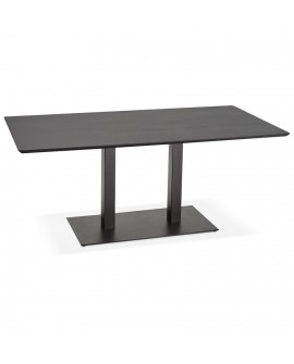 Table à diner design JAKADI BLACK 90x180x75 cm