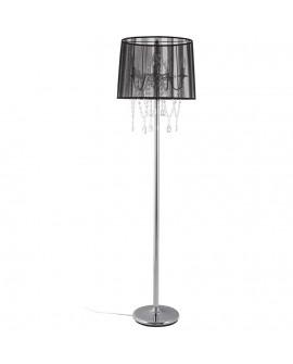 Lampe de sol design LOUNGE BLACK 45x45x165 cm