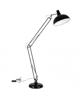 Lampe de sol design PIX BLACK 40x77x188 cm