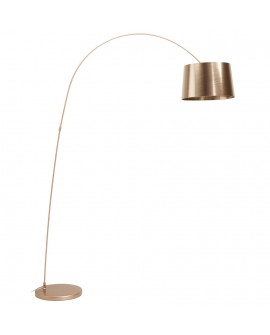 Lampe de sol design PILLAR COPPER 40x133x205 cm