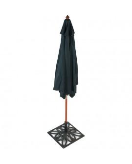 Parasol (sans pied) VARJO GREEN 295x295x260 cm