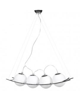 Lampe suspendue design LOK WHITE 37x102x25 cm