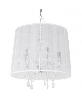Lampe suspendue design CONRAD WHITE 45x45x45 cm