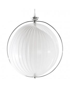 Lampe suspendue design EMILY WHITE 40x40x40 cm