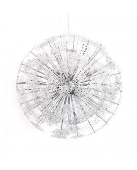 Lampe suspendue design SNOWFLAKE CHROME 70x70x70 cm