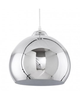 Lampe suspendue design GLOW CHROME 27x27x25 cm