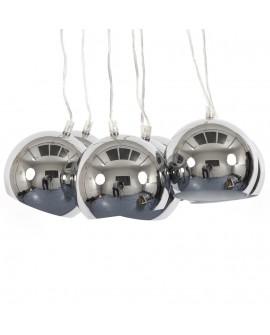 Lampe suspendue design EKLEKTIK CHROME 45x45x14 cm