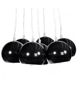 Lampe suspendue design EKLEKTIK BLACK 45x45x14 cm