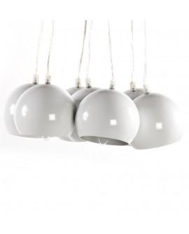 Lampe suspendue design EKLEKTIK WHITE 45x45x14 cm