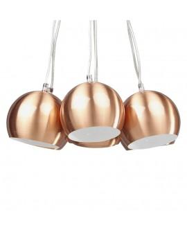 Lampe suspendue design SKAL COPPER 45x45x14 cm
