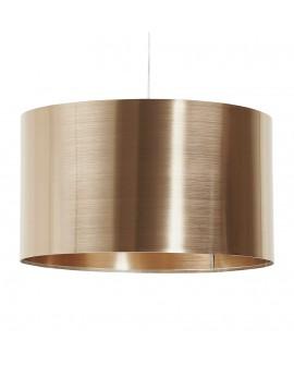 Lampe suspendue design TABORA COPPER 50x50x29 cm