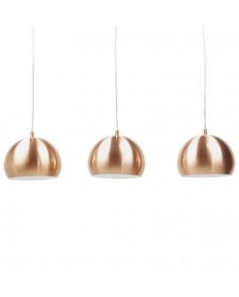 Lampe suspendue design TRIKA COPPER 20x60x16 cm
