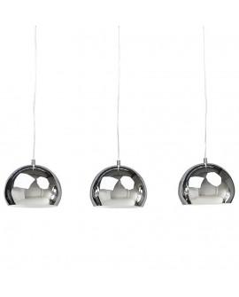 Lampe suspendue design TRIKA CHROME 20x60x16 cm