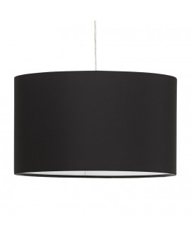 Lampe suspendue design SAYA BLACK 50x50x30 cm