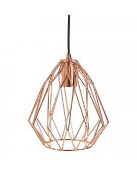 Lampe suspendue design PARAL COPPER 23x23x28 cm