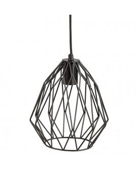 Lampe suspendue design PARAL BLACK 23x23x28 cm