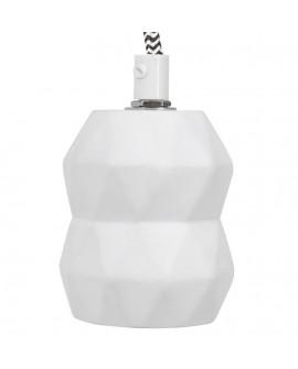 Lampe suspendue design ATUPA WHITE 11x11x150 cm