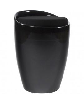 tabouret bas ESE BLACK 35x35x50 cm