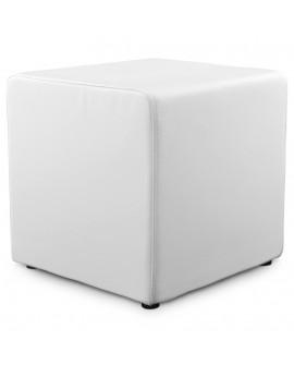 tabouret bas RUBIK WHITE 41x41x41 cm