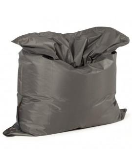 Pouf design gris clair/gris foncé FAT GREY 129x168x33 cm